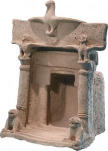 svetište iz željeznog doba posvećeno boginjama Ašeri, Aštarti i Tanit (Credit: Ardon Bar Hama)